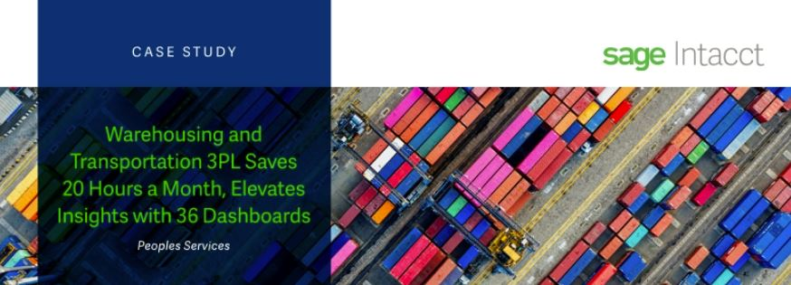Peoples Services - Warehousing and Transportation 3PL Saves 20 Hours a Month, Elevates Insights with 36 Dashboards