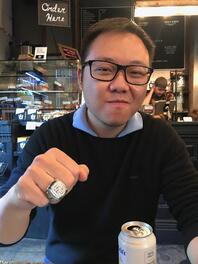 Ray pic with ring