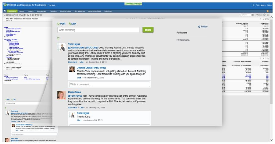 Sage Intacct Collaborate Example