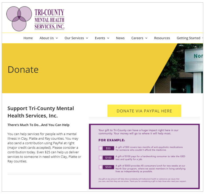 Tri County Mental Health Services Impact